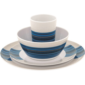 Outwell Blossom Picnic Set for 2 persons, columbine blue
